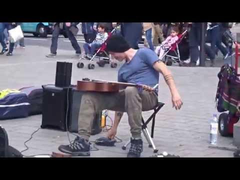 Morf Music - Trafalgar Square Street Performance