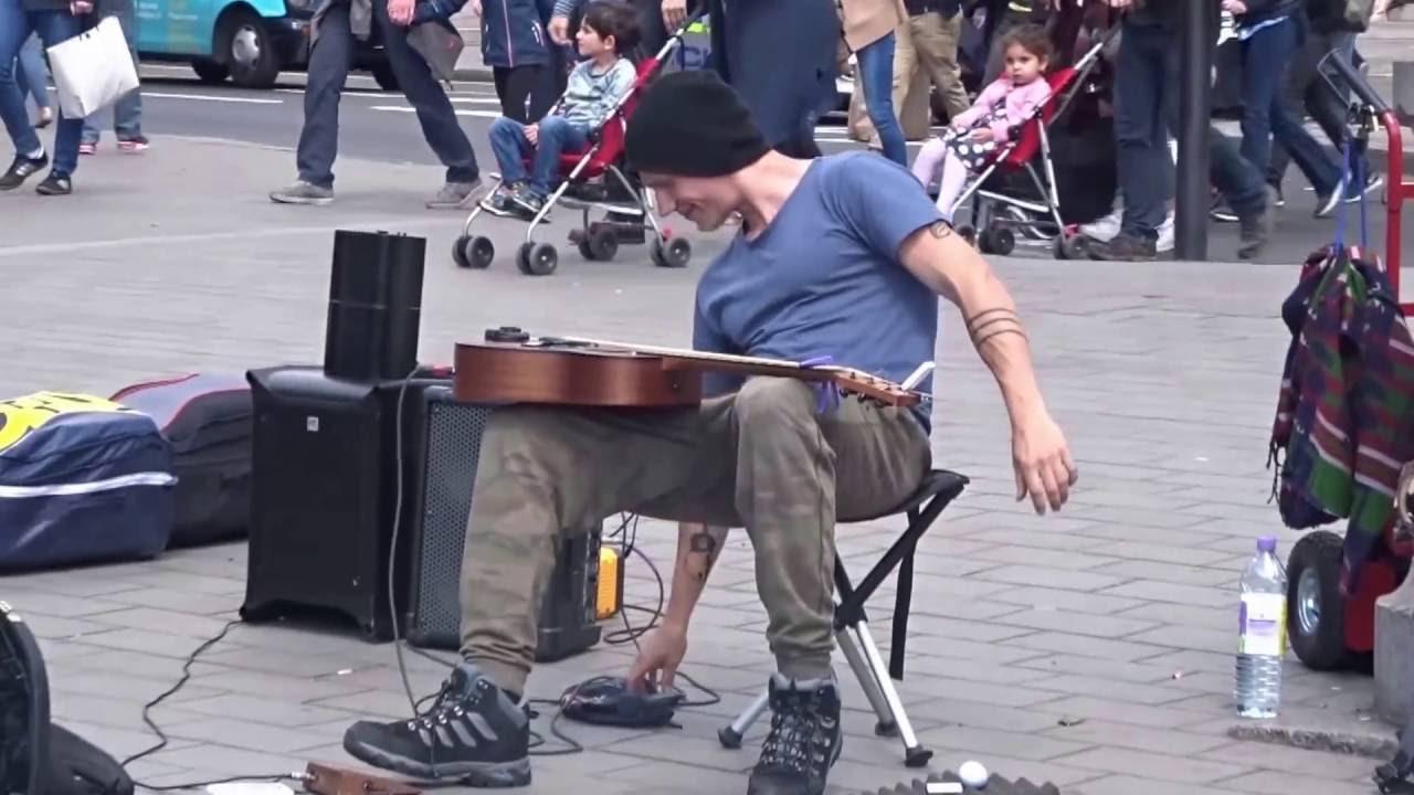 Morf Music Trafalgar Square Street Performance Youtube