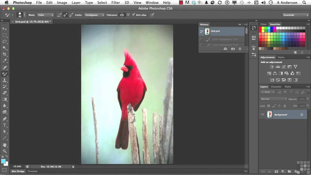 Adobe Photoshop Cs6 Tutorial Color Replacement