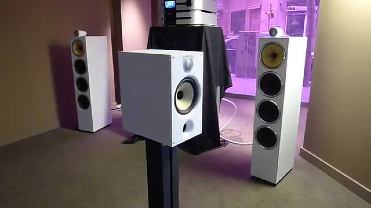 Bowers Wilkins Speakers >> Altavoces B&W 685S2 Speakers - YouTube