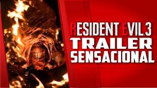 Resident Evil 3 REMAKE-  TRAILER do Nemesis simplesmente SENSACIONAL