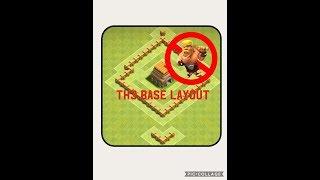 Clash of Clans | TH3 Base Design | Trophy Base