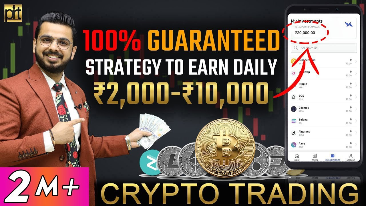 Earn Daily from Crypto Trading   100% Proven Strategy to Make Money from Cryptocurrency   Bitcoin