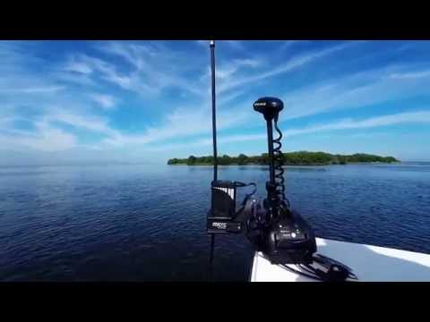 How To hold your boat sideways in the current using a bow mounted Power-Pole Micro