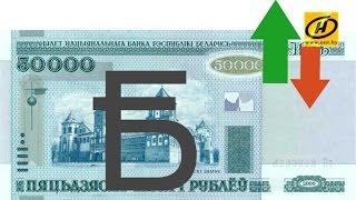 Белорусский рубль укрепил свои позиции к корзине валют