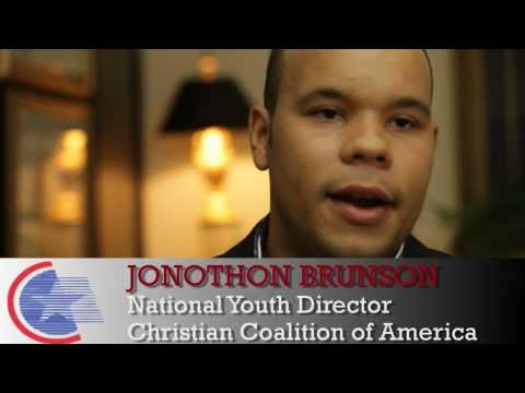 Christian Coalition National Youth Outreach Director Jonothon Brunson on Energy Job Creation