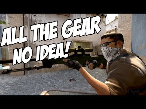 CSGO | ALL THE GEAR NO IDEA!