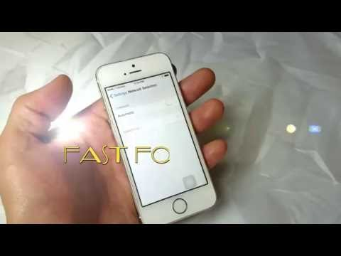 "iPhone 5/5c/5s: How to Fix ""No Service"" or ""Searching"" Issue"