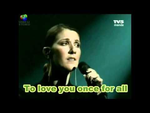 Celine Dion - L'amour existe encore - English Subtitles