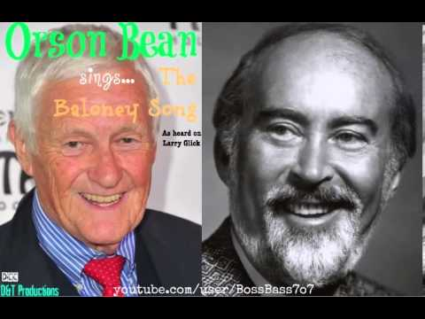 Orson Bean Sings The Baloney Song