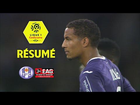 Toulouse FC - EA Guingamp ( 2-1 ) - Résumé - (TFC - EAG) / 2017-18