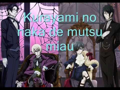 Kuroshitsuji ending Lacrimosa Kalafina lyrics