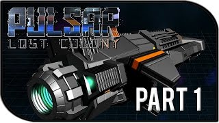 "Pulsar: Lost Colony Gameplay Part 1 - ""SPACE BATTLES + DUNE WORMS!"" (Multiplayer)"