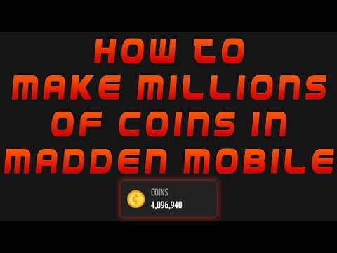 Best Madden Mobile Coin Making Method! Make MILLIONS!
