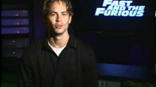 Paul Walker - The Fast and the Furious - Public Service Announcement - PSA