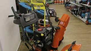 видео Снегоуборщики с бензиновым двигателем