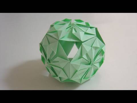 Origami Traditional Kusudama