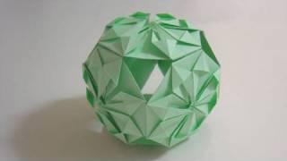 Origami Traditional Kusudama