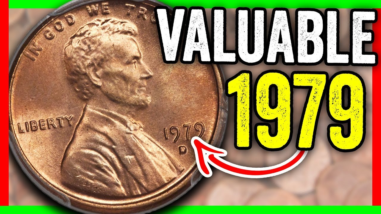 1979 LINCOLN PENNY COIN VALUES - RARE PENNIES WORTH MONEY