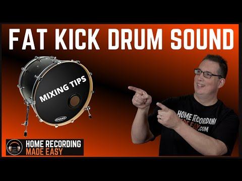 How To Get a BIG Kick Drum Sound | 3 Mixing Tips