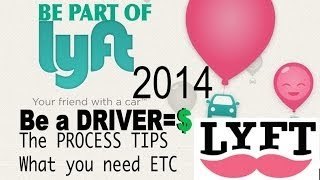 Lyft (2014) Becoming a Driver process and tips LA PART 1