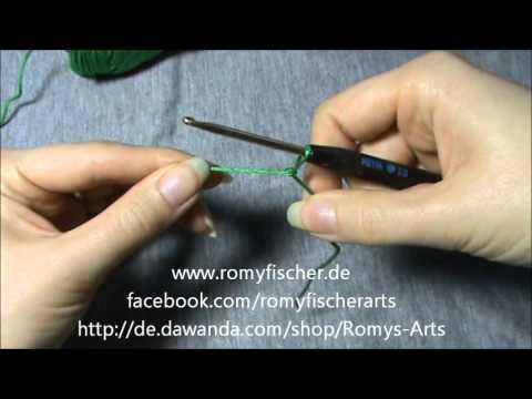 Häkeln Für Anfänger 1 Beginn Und Luftmaschen Youtube