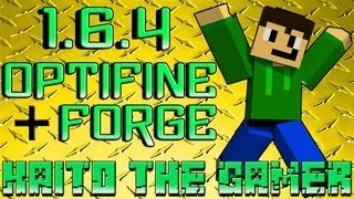 TutoMinecraft .:Descargar e Instalar Optifine Mod y Minecraft Forge:. [1.6.4] [Pirata & Premium]