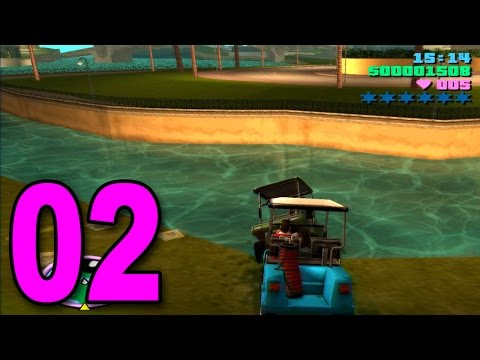 Grand Theft Auto: Vice City - Part 2 - GOLF CART MAYHEM