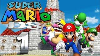 Let's Play SUPER MARIO 64 DS Part 1: Vier Helden und eine Prinzessin mit Kuchen