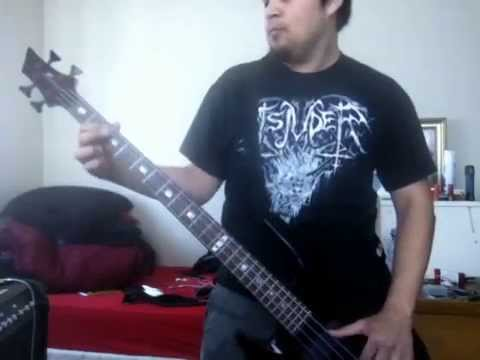 The Invisible Guests - King Diamond (bass cover)