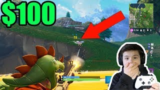 FORTNITE KILL CHALLENGE! (WINNER GETS $100)