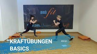 Kraftübungen Basics - 40min - medifit Wolfhagen