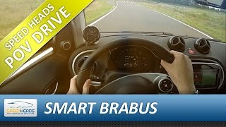 POV Drive - Smart Brabus Onboard Test drive (pure driving, no talking)