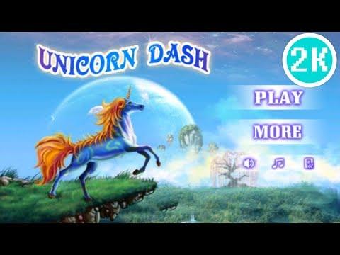 Unicorn Dash Android Gameplay | 2K QHD
