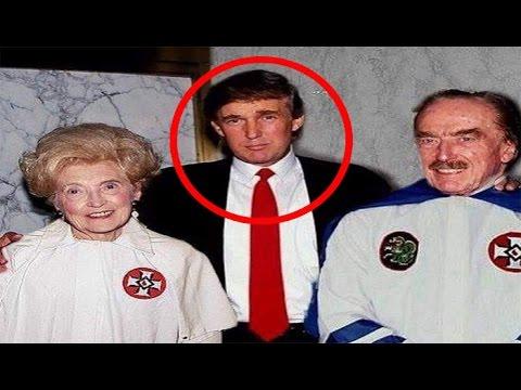 Resultado de imagen de Donald Trump desde niño pertenece a la secta racista Ku Klux Klan