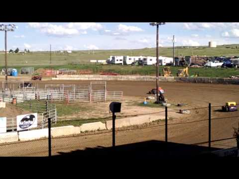 Dwarf Cars at El Paso County Speedway July 25 2015