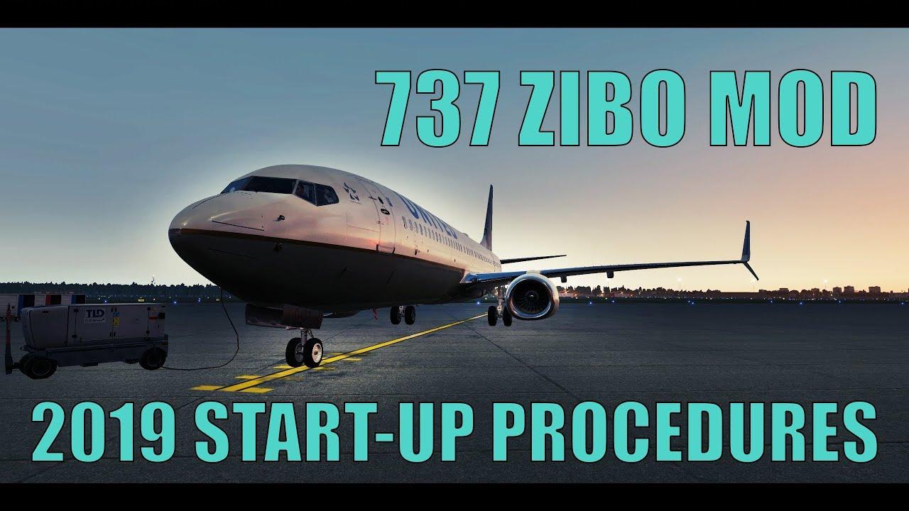 737 Zibo Start-Up Procedures [Updated 2019] XP11