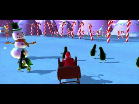 Jingle Bells Christmas Songs For Kids - Santa Claus Cartoon - Happy funny Video for Boys and Girls