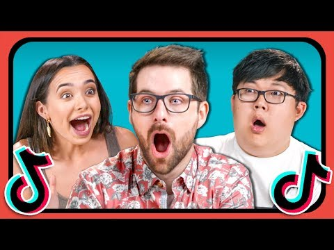 YouTubers React To And Try Tik Tok Challenges (Git Up, Assumptions, Time Traveler) thumbnail