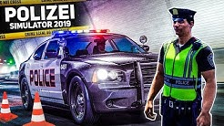 POLIZEI SIMULATOR 2019: Verkehrskontrolle und Unfall! | Police Simulator: Patrol Duty #1