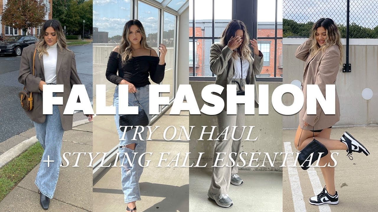 Download FALL FASHION 2021 | Zara, H&M, Shein, Missguided Try On Haul, Styling Fall Essentials, Fall Lookbook