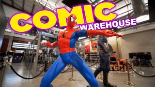 Comic Warehouse South Africa 4K | Feiyu AK4500 Gimbal