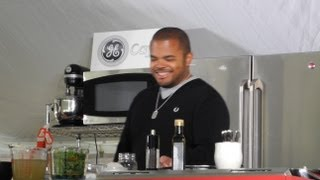 Chris De La Rosa One On One With Roger Mooking @ Savour Stratford.