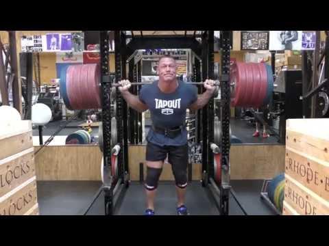 john cena workout