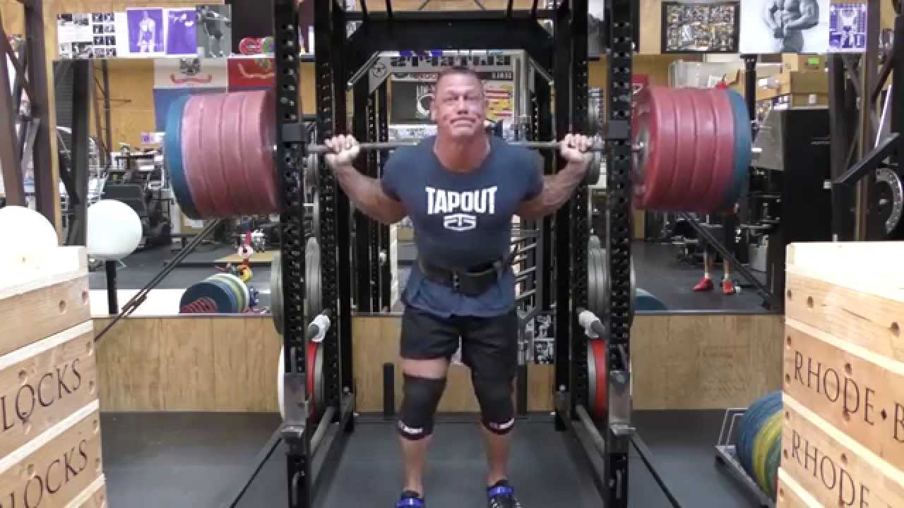 John Cena Bodybuilding