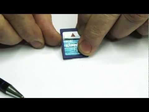 Como desbloquear una tarjeta de memoria SD