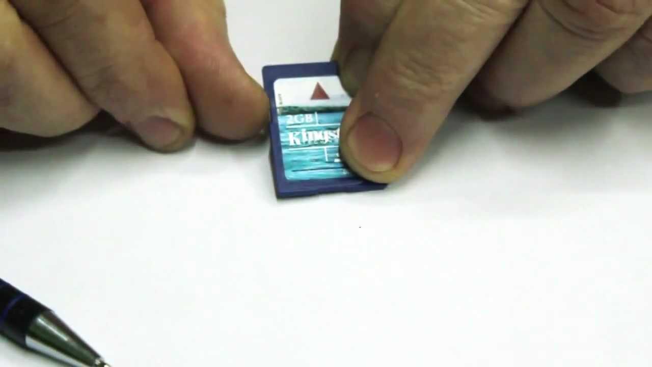 tarjeta de memoria bloqueada