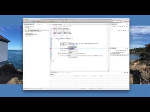JavaFX Scenebuilder Database Video1