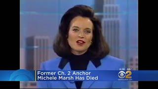 Former CBS2 Anchor Michele Marsh Dies