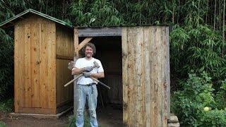 Using Pallet Wood For Renovation. Bois De Palette Pour Rénover. Restaurar Con Madera De Paletas.